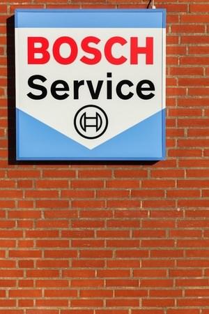 ボッシュ認定工場の看板