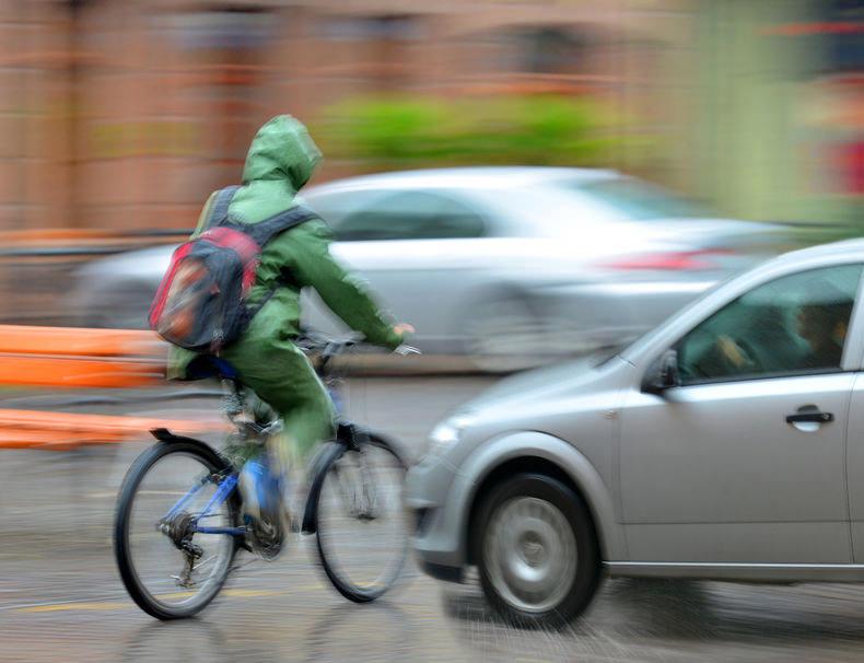 危ない自転車